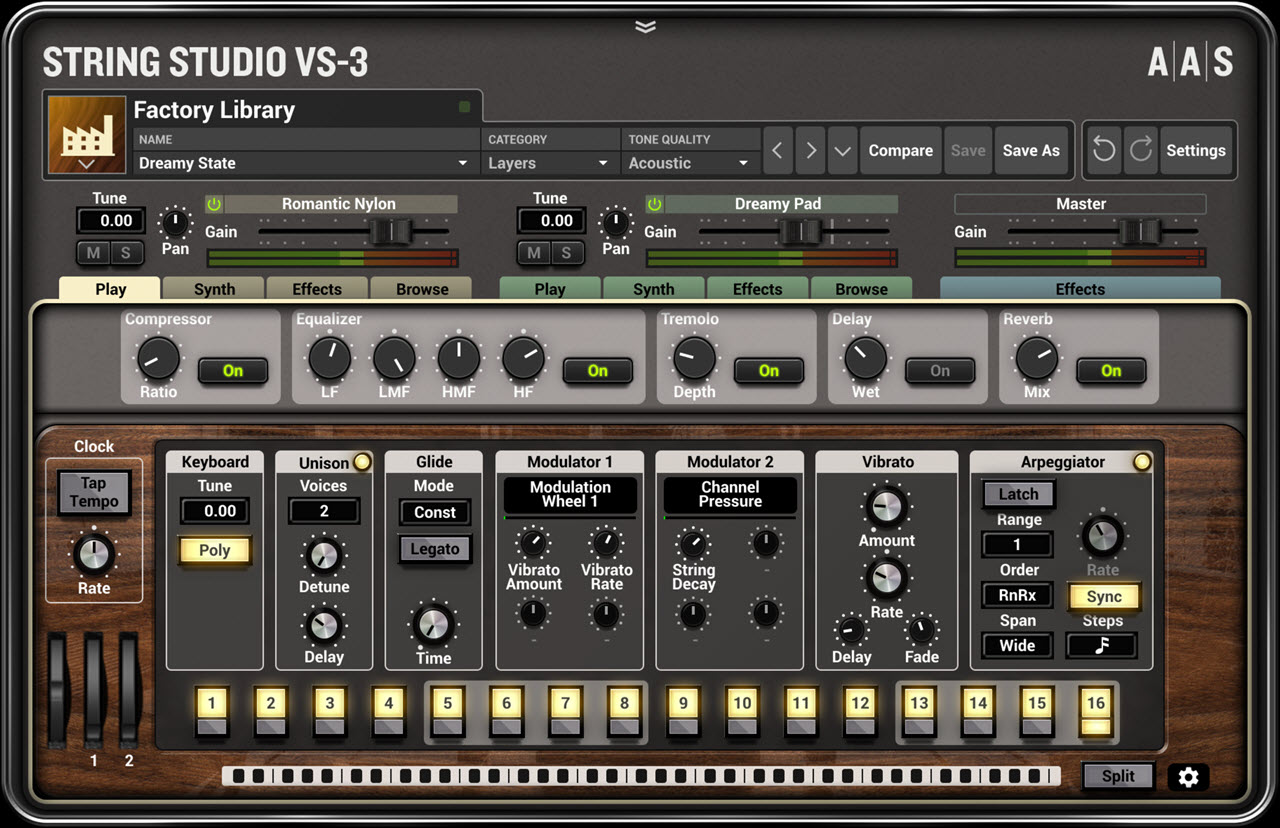 AAS 发布 String Studio VS-3 弦乐振荡合成器插件(视频)