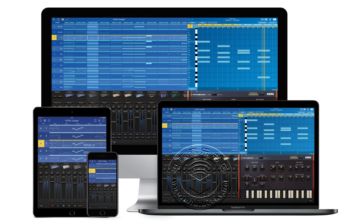 2019年NAMM展会新闻:Korg 即将推出 Gadget 2音乐制作软件(DAW)