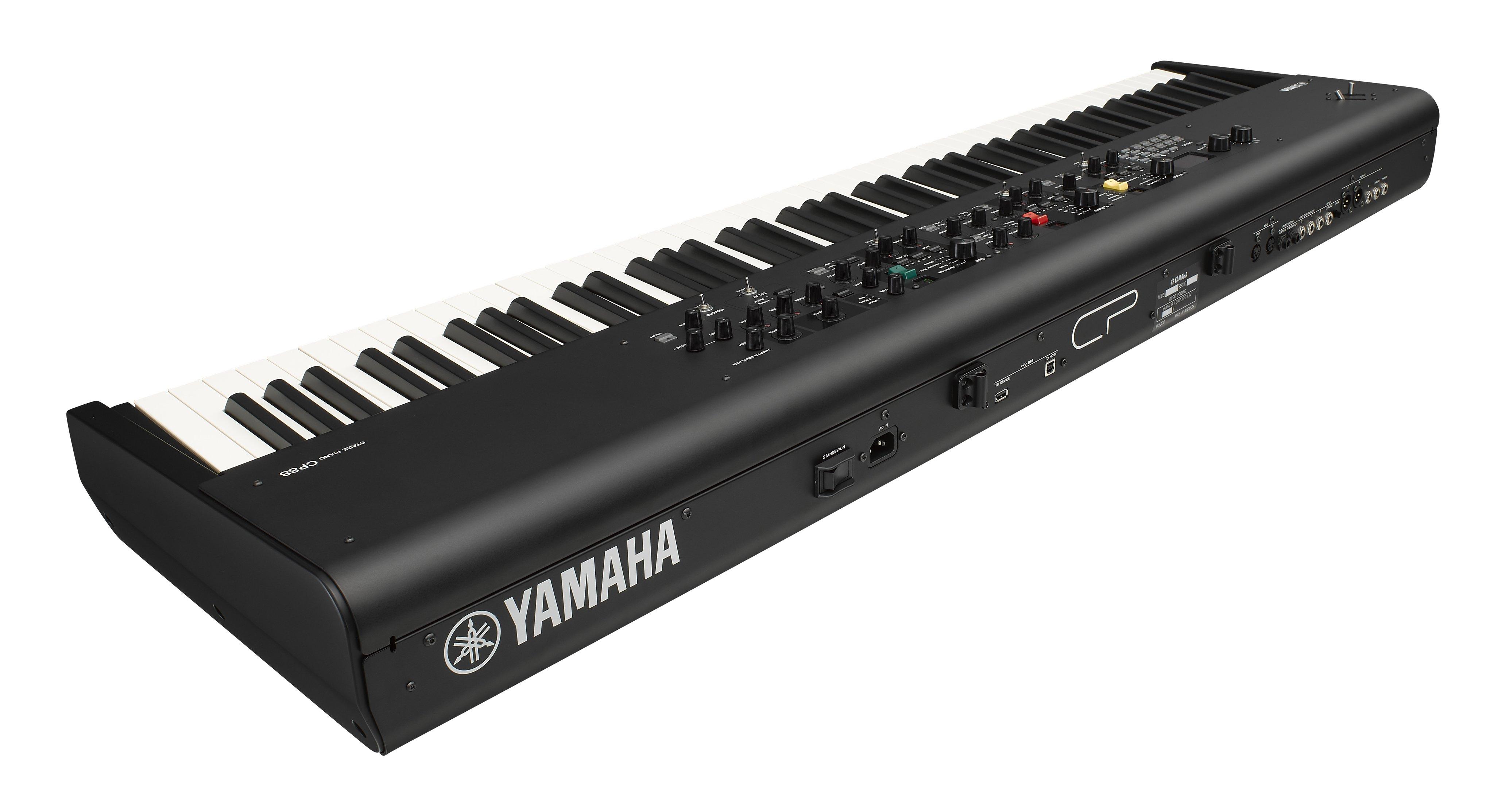2019年NAMM展会新闻:YAMAHA(雅马哈)即将推出CP73和CP88舞台数码钢琴(视频)