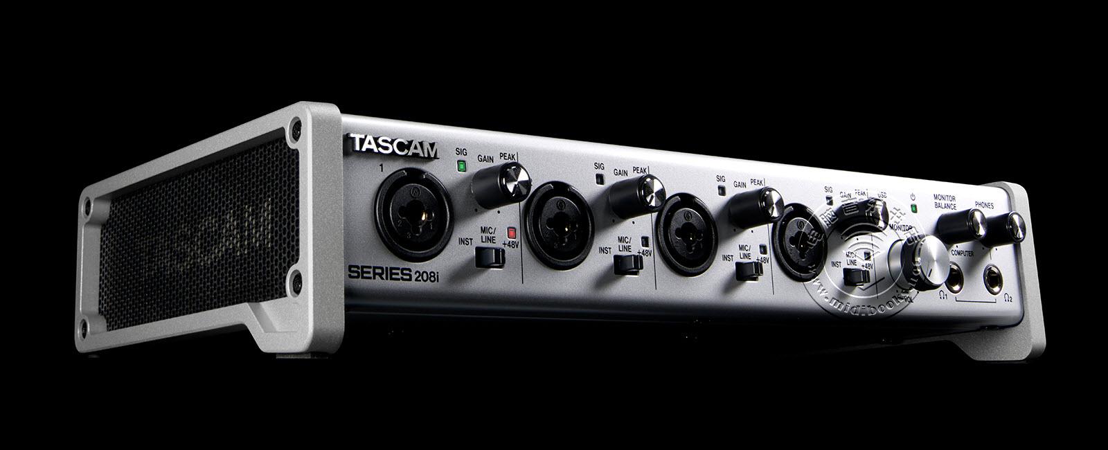 2019年NAMM展会新闻:TASCAM发布全新USB音频接口102i和208i(视频)