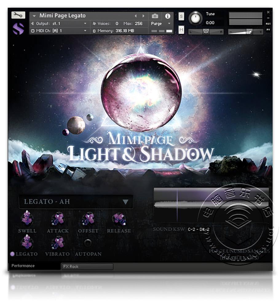 Mimi Page Light&Shadow — 可用于电影音效的女性独唱和大气音色库(视频)