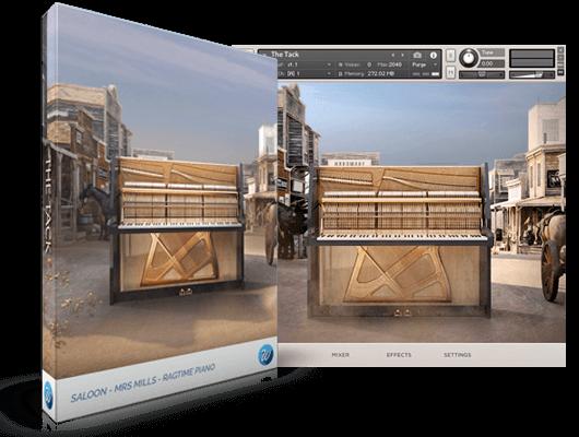 Wavesfactory 推出用于 Kontakt 的 Tack Piano(按钉钢琴)音色库(视频)
