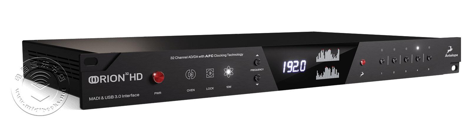 Antelope Audio(羚羊音频)发布最新的Orion 32HD/Gen 3高端音频接口