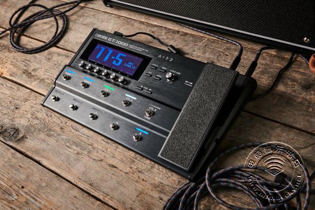 BOSS 发布 GT-1000 吉他处理器的第三版更新