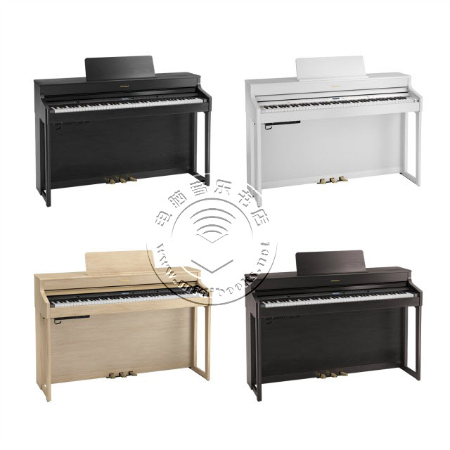 Roland(罗兰)推出HP700系列数码钢琴(视频)