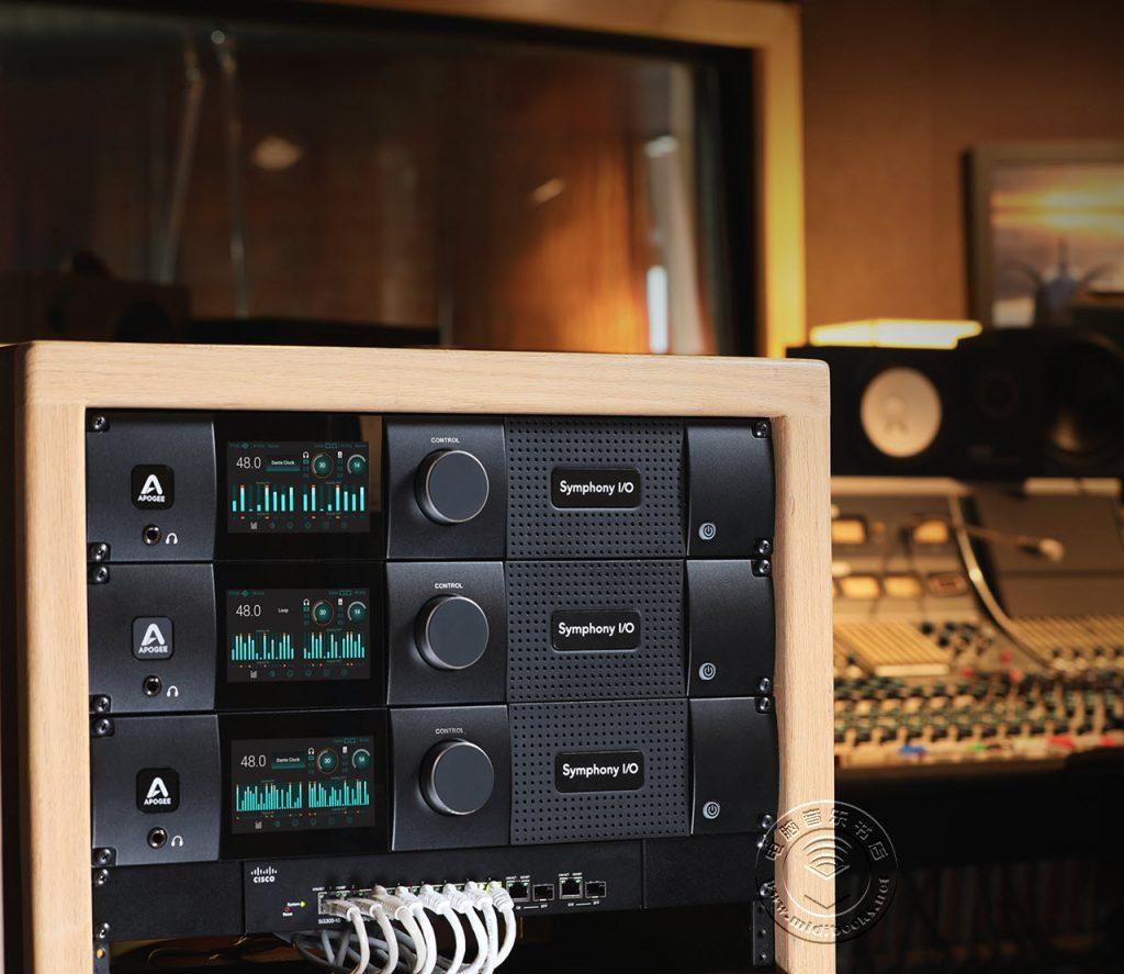 Apogee 发布配备Dante网络技术的旗舰级音频接口