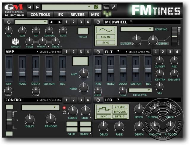 可用于iOS系统的FM电钢琴合集 — FM TiNES