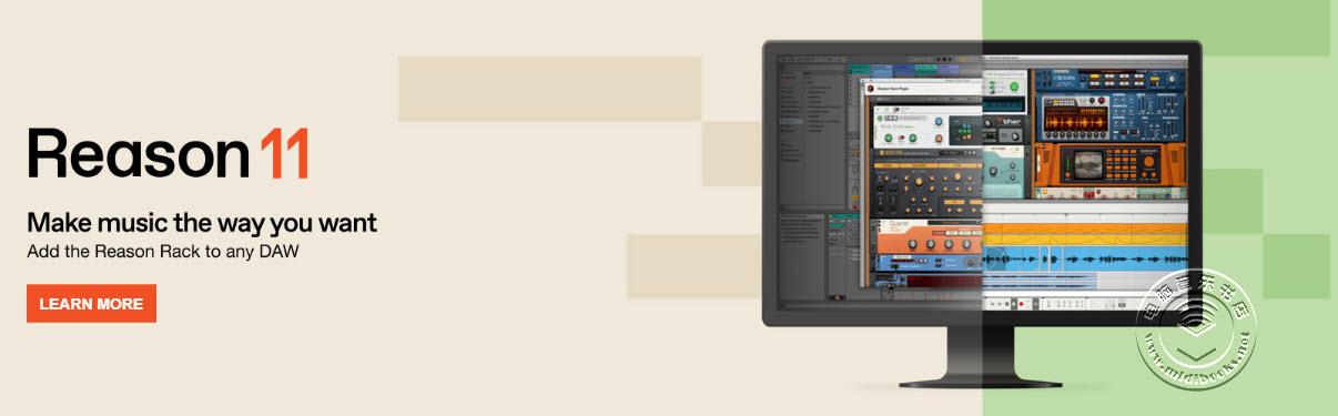 Propellerhead 改名Reason Studios并推出插件版Reason 11