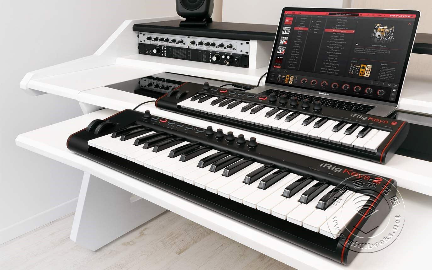 新外观、新功能:IK Multimedia发布iRig Keys 2第二代键盘
