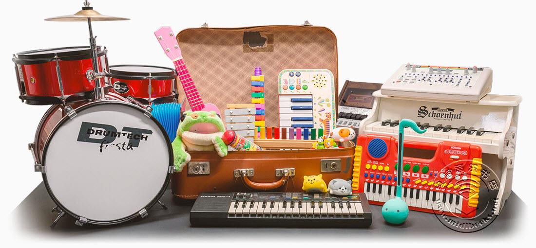 UVI发布玩具乐器套装(Toy Suite)音色库(视频)
