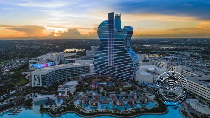 Hard Rock吉他造型酒店在佛罗里达州开业(视频)