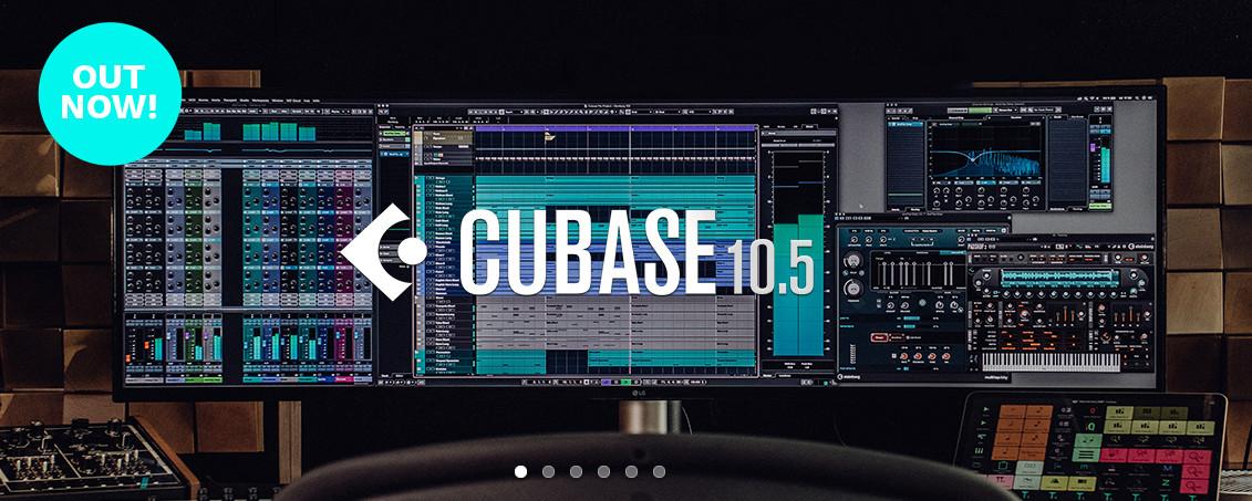 Steinberg(斯坦伯格)发布Cubase 10.5