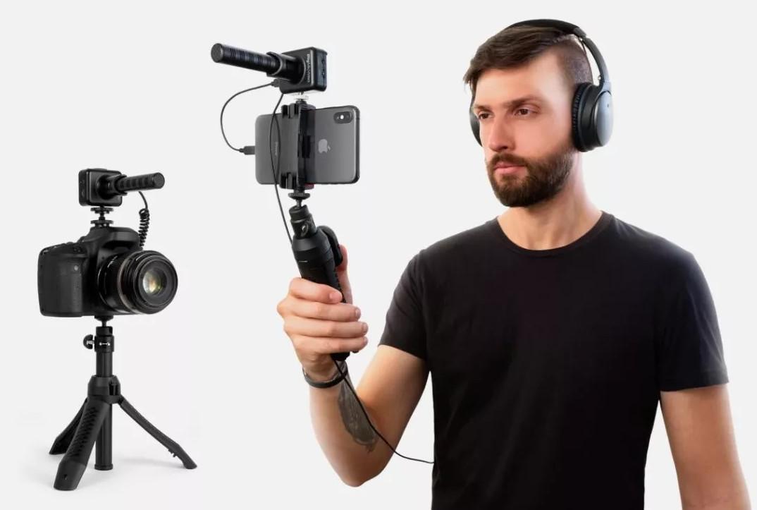 便捷、高清:IK Multimedia发布4款新生代便携手机话筒/接口