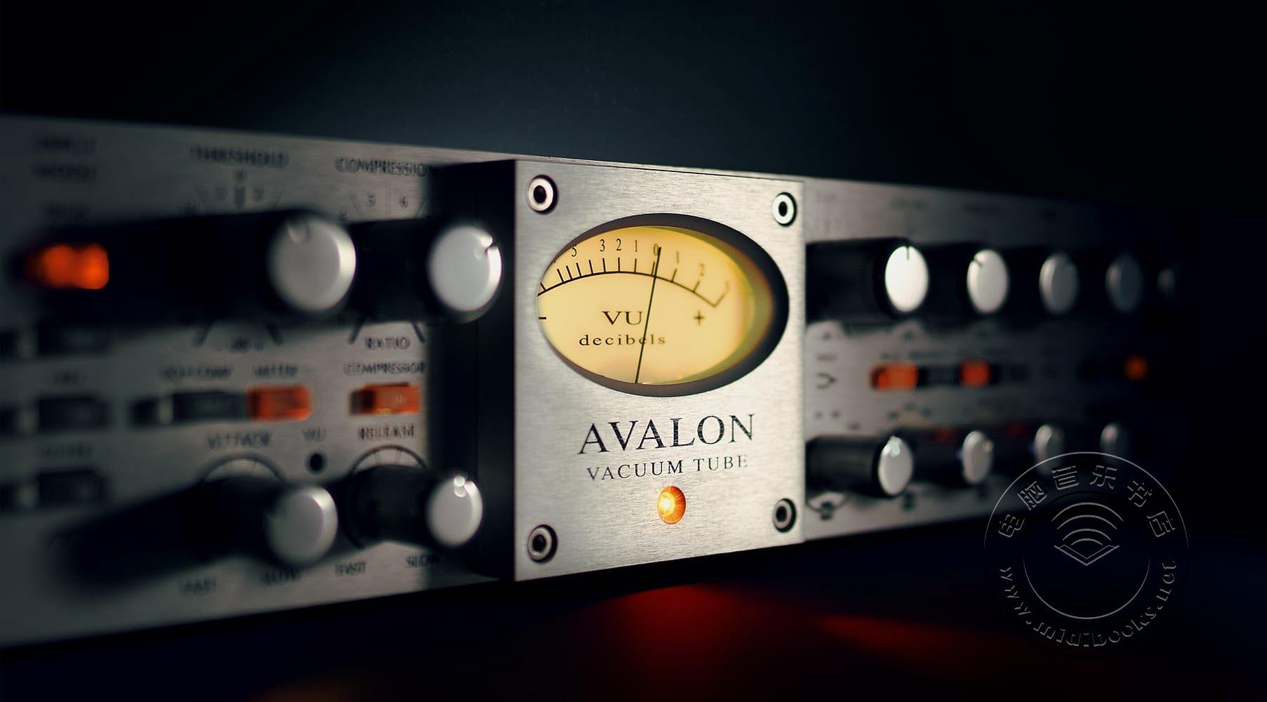 Universal Audio(通用音频)发布Avalon VT-737电子管通道条仿真插件