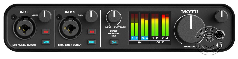 MOTU推出低端音频接口M2和M4,抢占200美元以下市场