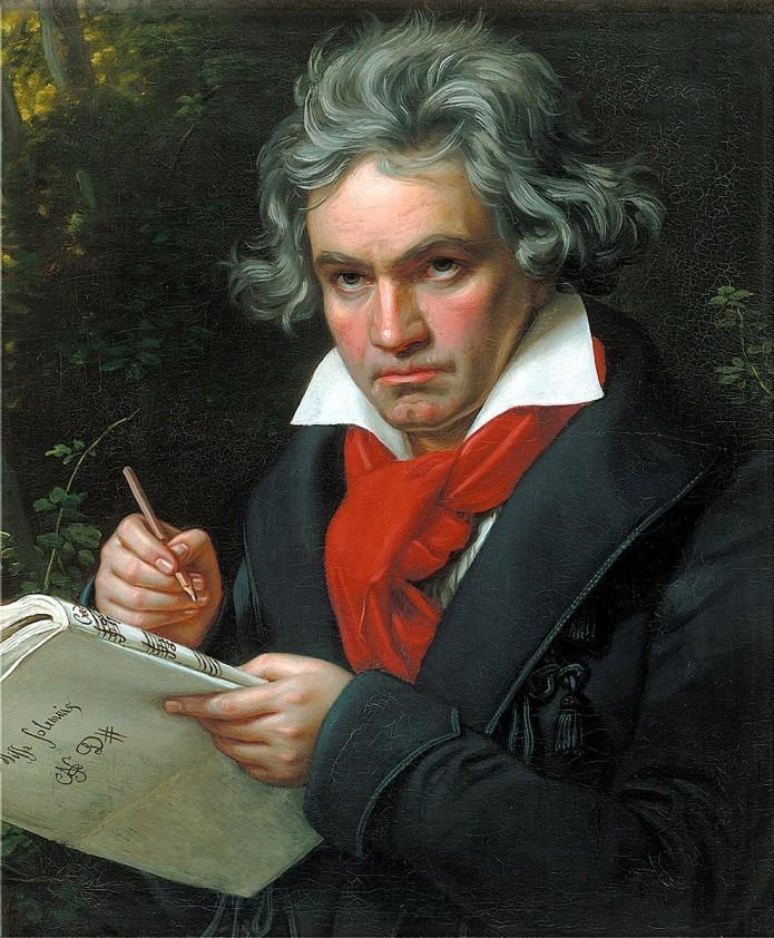 贝多芬诞辰250周年,AI将续写其未完成作品《第十交响曲》
