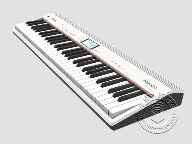 Roland(罗兰)发布内置Alexa语音助手的GO:PIANO电钢琴