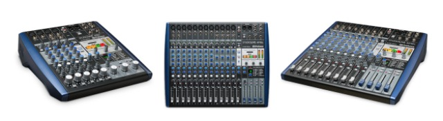 Presonus发布带有USB2.0音频接口的ARc系列紧凑型调音台(视频)