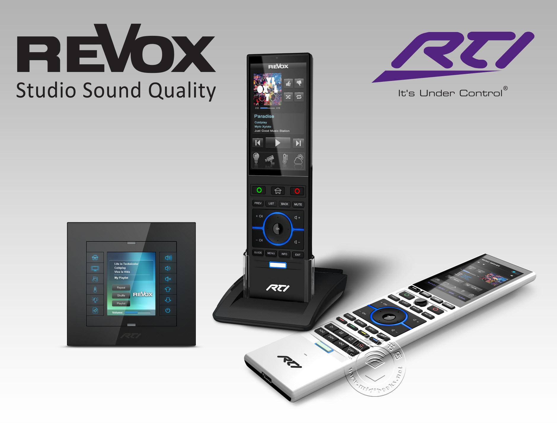 RTI发布可用于Revox多用户音频系统的最新驱动