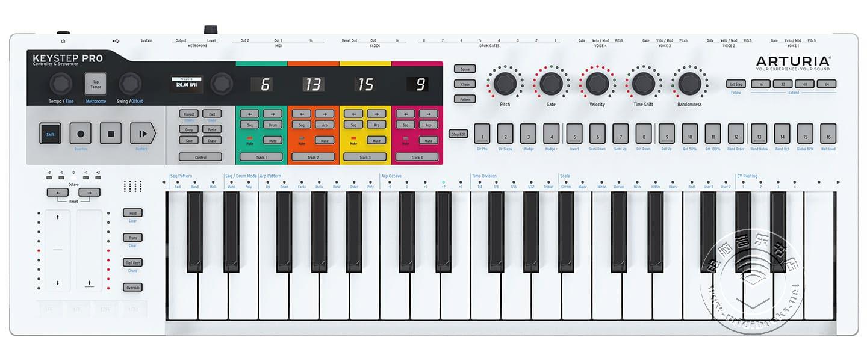 2020年NAMM展会新闻:Arturia 介绍 KeyStep Pro键盘控制器(视频)