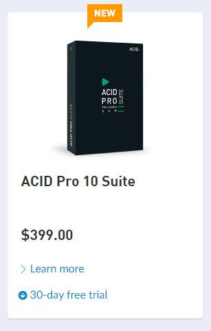 Magix推出ACID Pro 10