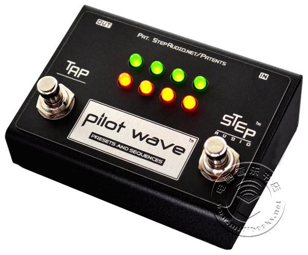 Pilot Wave — 能够转换MIDI吉他踏板的控制器