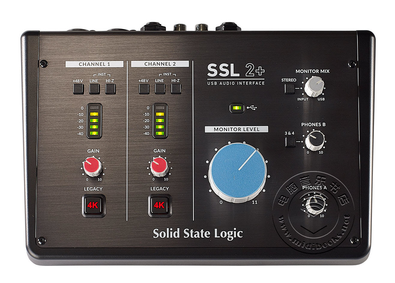 Solid State Logic(SSL)发布SSL2和SSL2+USB音频接口(视频)