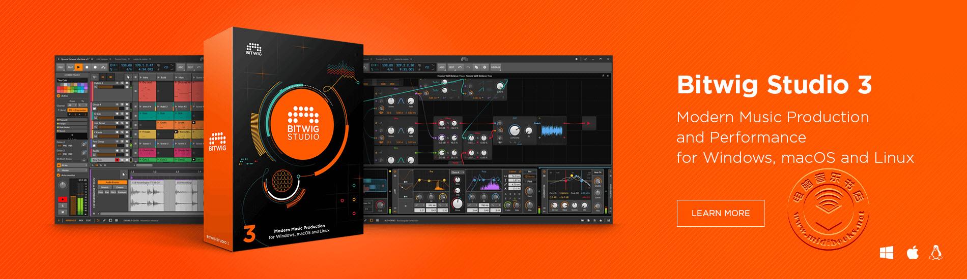 Bitwig Studio 3.2版发布,对声音的把控增强(视频)