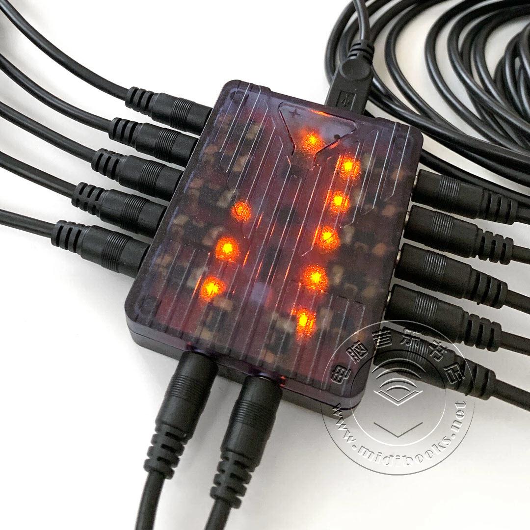Retrokits RK006,一个超小的MIDI集线器