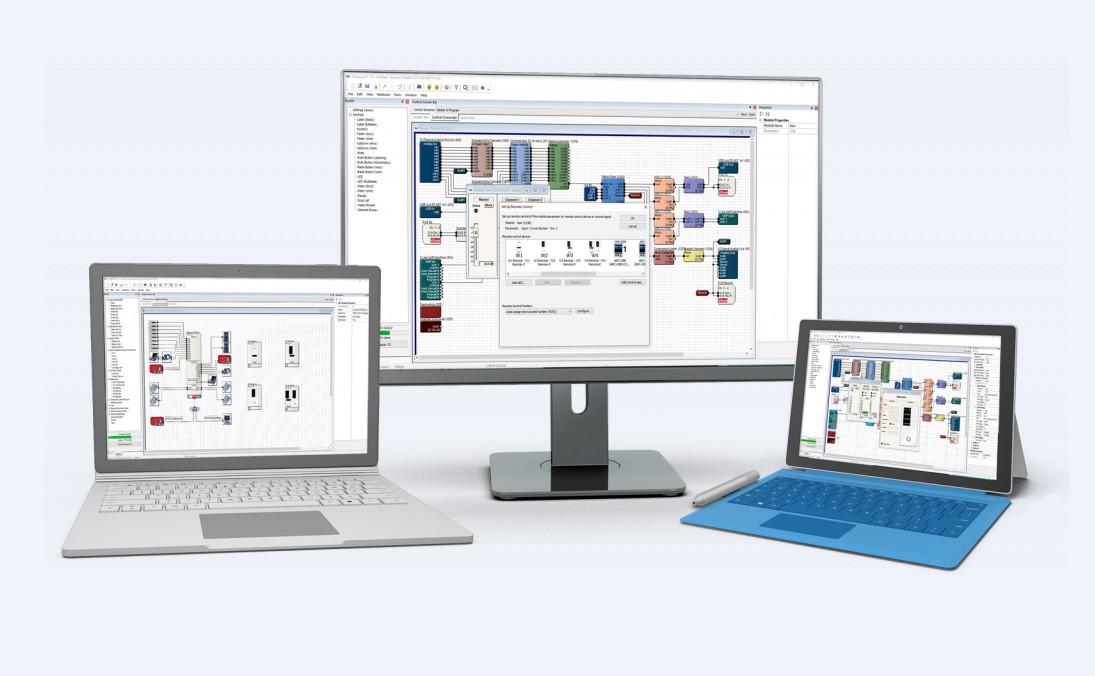 Symetrix推出旗下音频编程软件的最新版本Composer 7.3