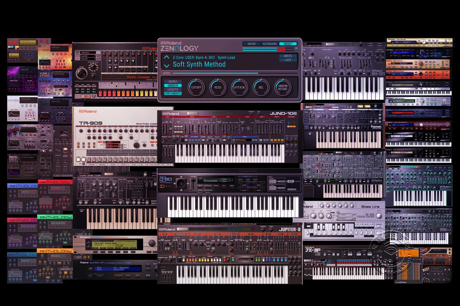 Roland Cloud(罗兰云)乐器开始了迄今为止最大规模的扩充