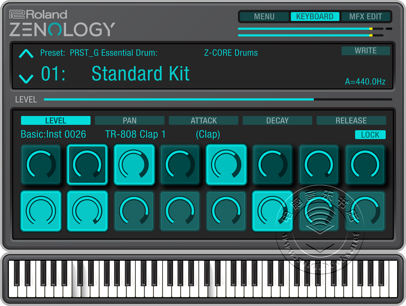 Roland推出ZENOLOGY(禅学)软件合成器(视频)