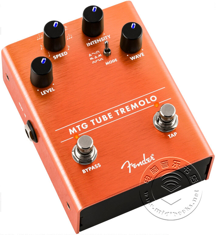 Fender(芬达)发布MTG Tube Tremolo吉他踏板(视频)