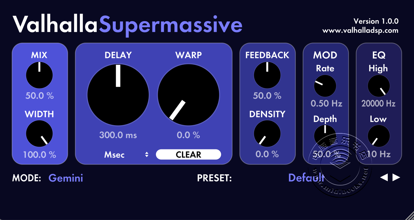 Valhalla 的 Supermassive 混响免费下载