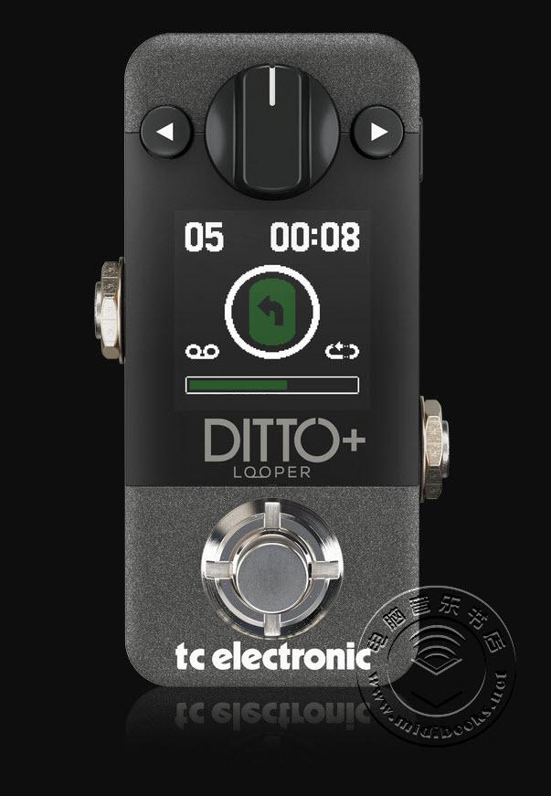 TC Electronic发布DITTO+ Looper循环效果器(视频)