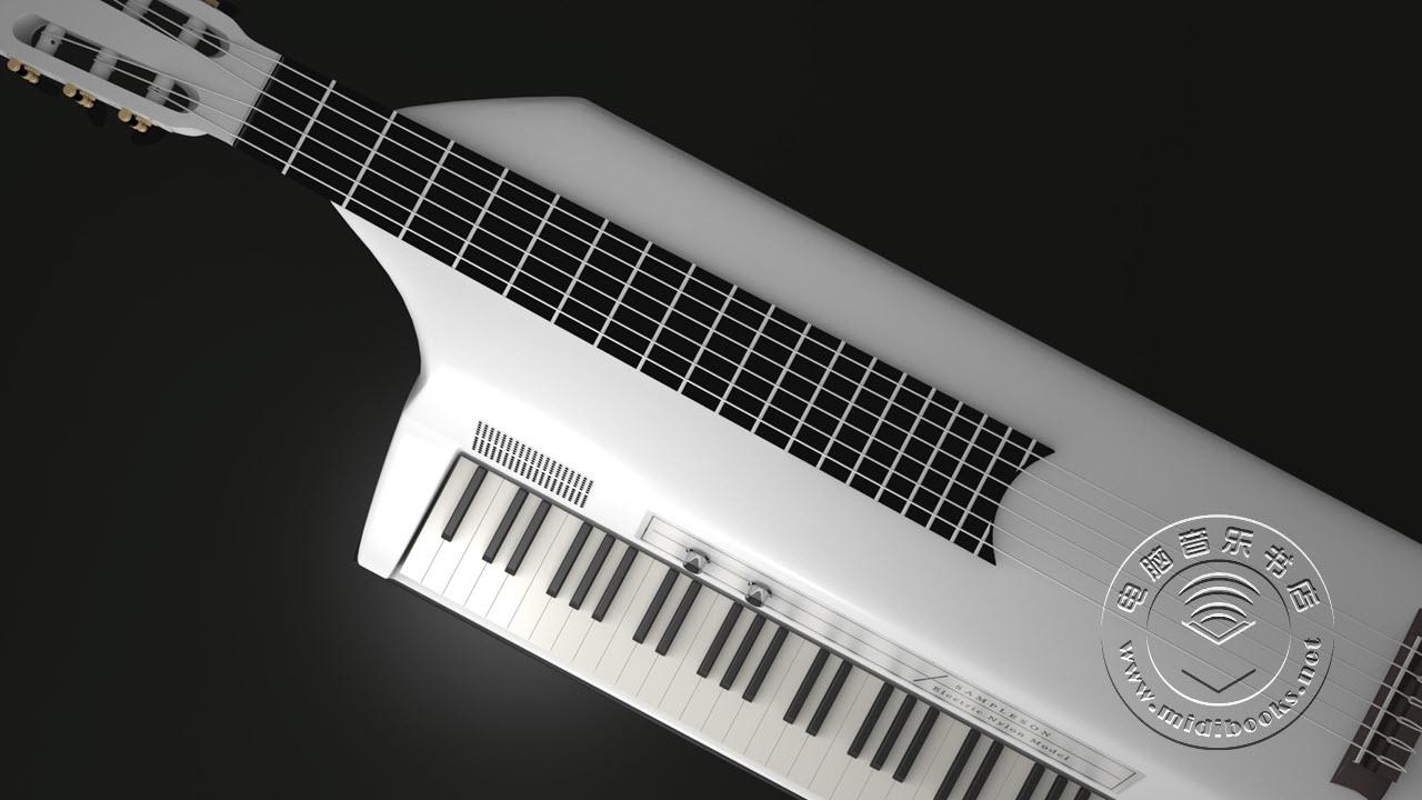 ElectroNylon,尼龙吉他和电钢琴的完美结合(视频)