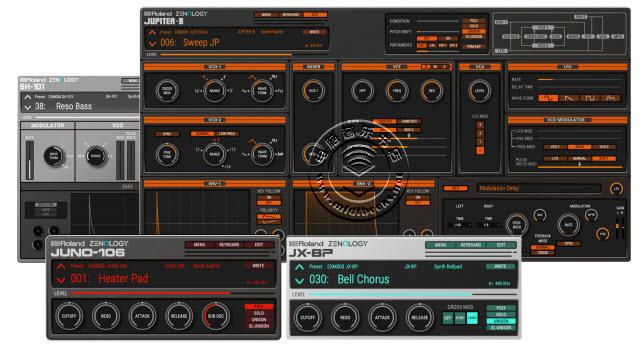 Roland(罗兰)宣布针对Roland Cloud和ZEN-Core系统的乐器扩展