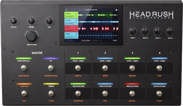 HeadRush Looperboard踏板控制器发布最新2.0版固件突破性更新