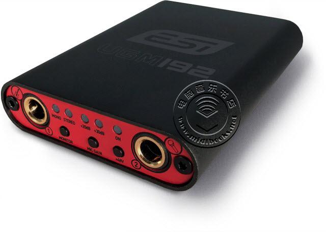 ESI发布具有超高音质的USB音频接口UGM192