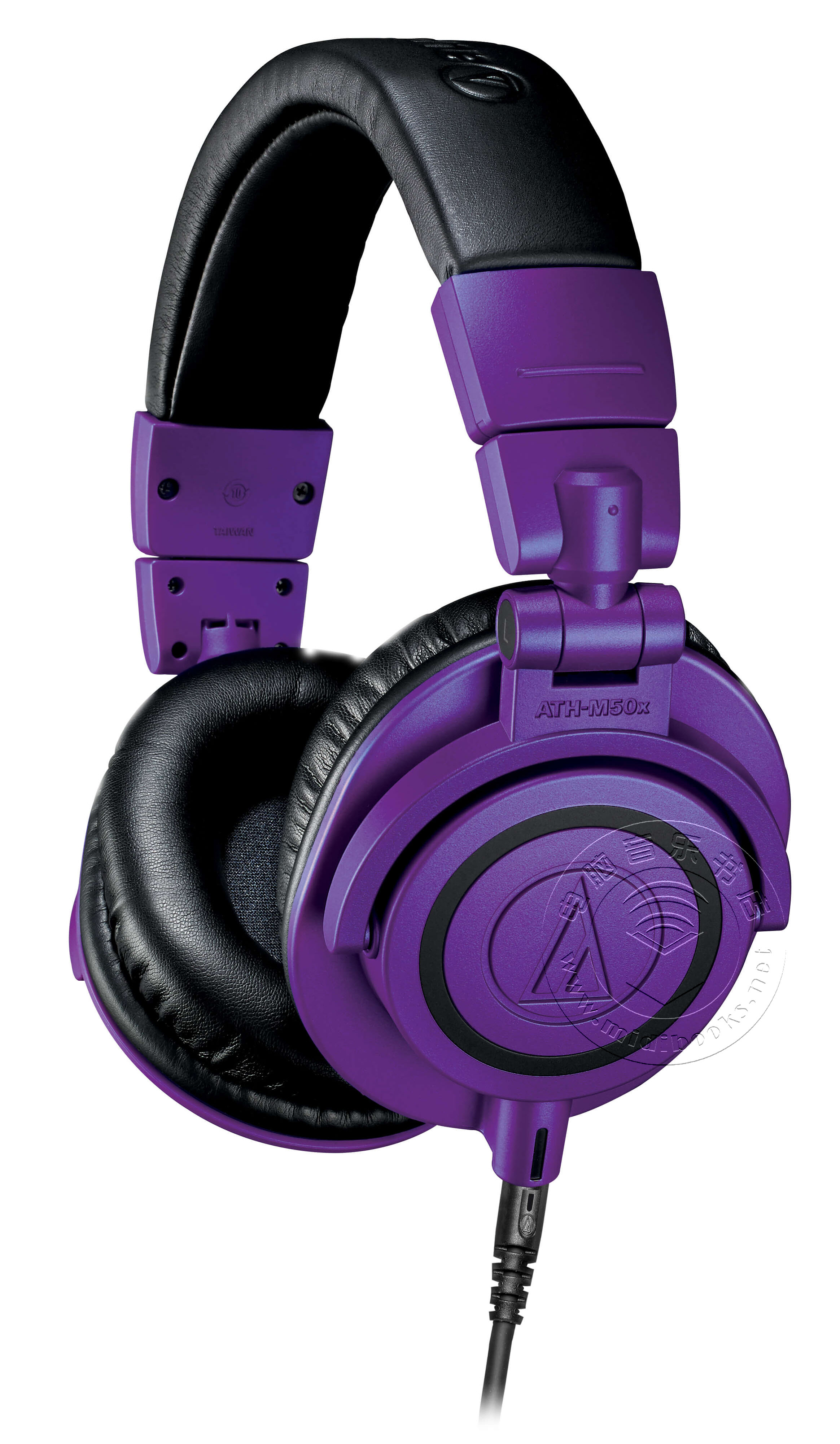 Audio-Technica推出限量版紫色和黑色监听耳机