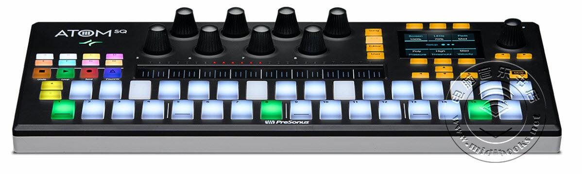 PreSonus发布ATOM SQ鼓机控制器