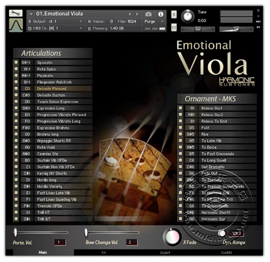 Best Service发布Emotional Viola(情感中提琴)虚拟乐器