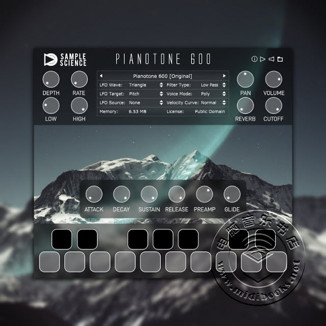 Jen Pianotone 600 模拟钢琴音源免费下载