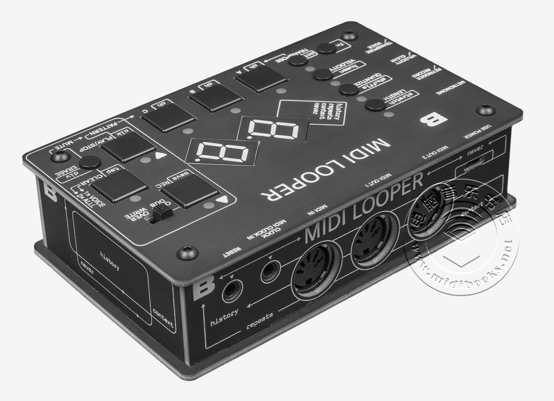 Bastl Instruments 发布 Midilooper MIDI循环器(视频)