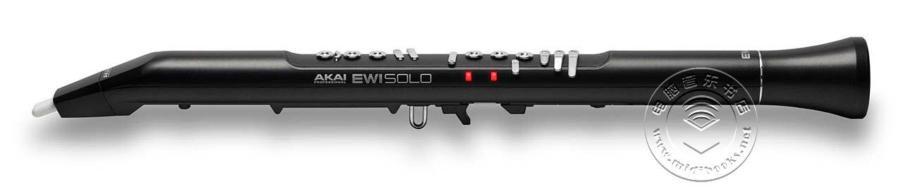Akai发布新的EWI Solo电吹管,可以独奏也可以作为MIDI设备使用(视频)