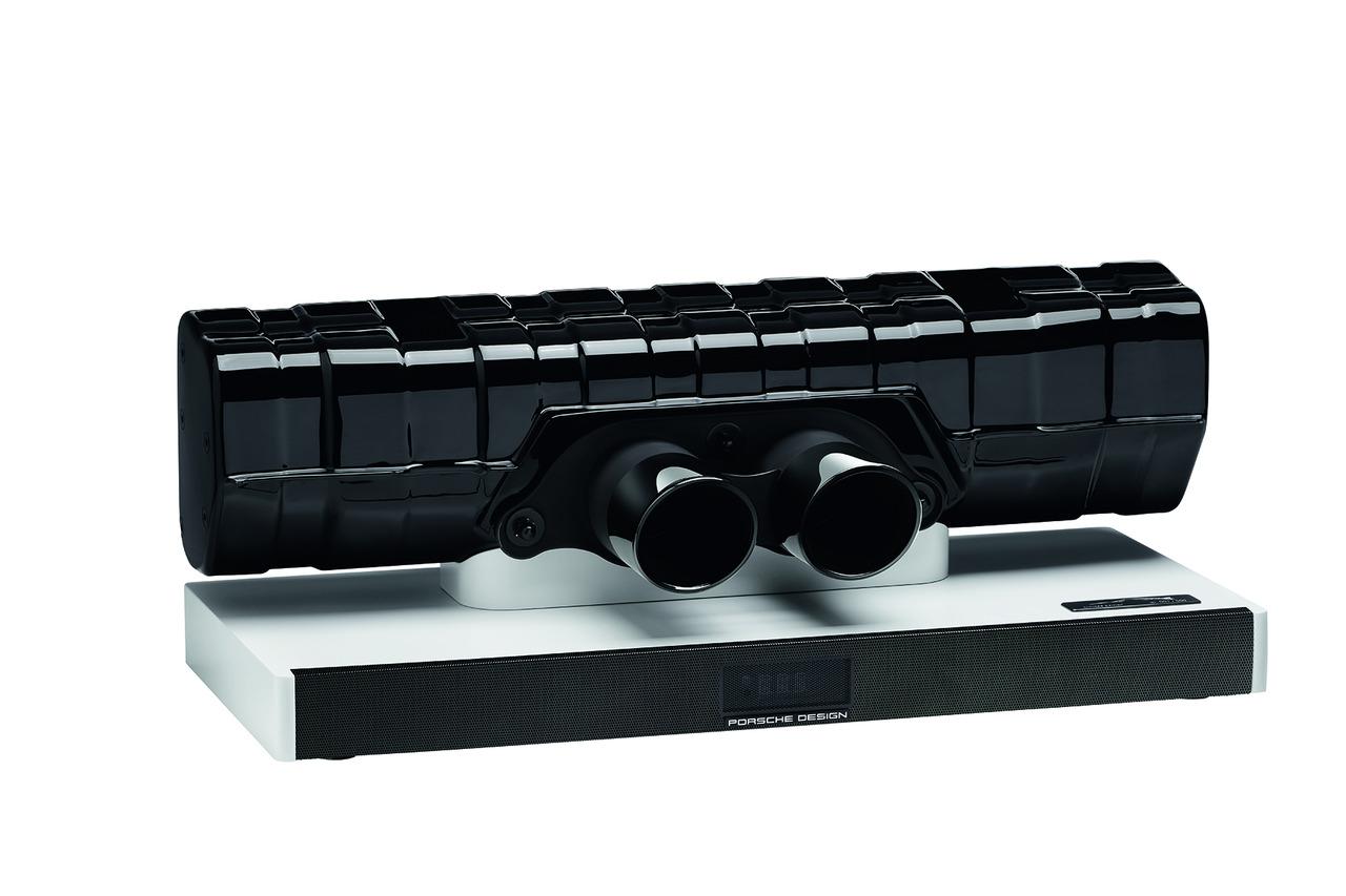 保时捷推出手工打造的911音响,由911 GT3尾管制作而成