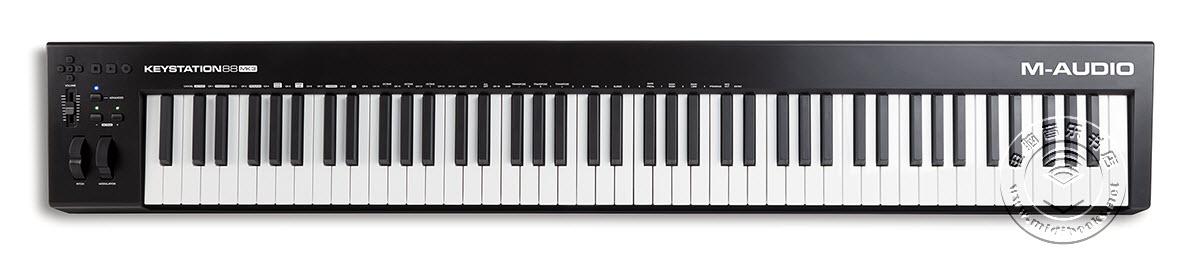 M-Audio发布Keystation 88 MK3 MIDI键盘控制器(视频)