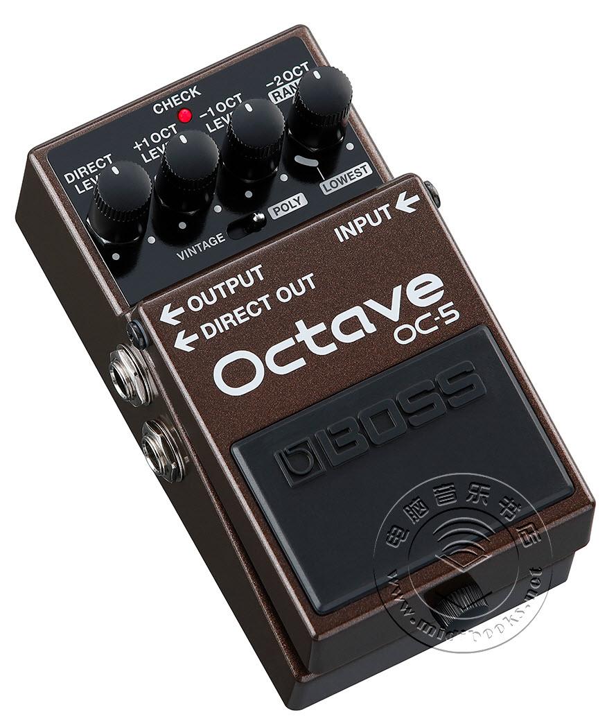 BOSS推出OC-5八度踏板效果器(视频)