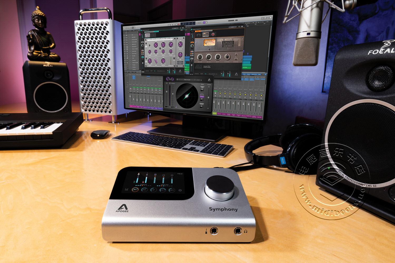 Apogee发布带有顶级音质的桌面音频接口Symphony Desktop(视频)
