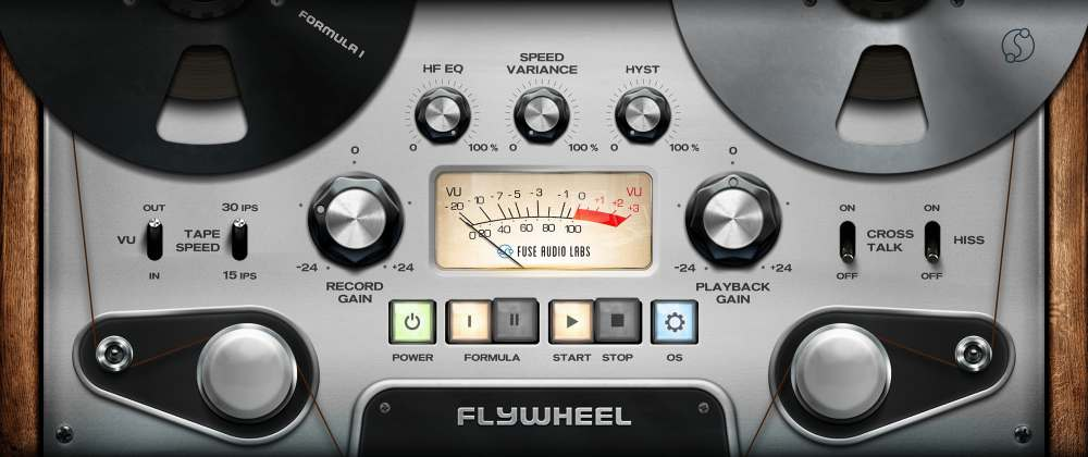 FLYWHEEL,一个全新的磁带仿真插件(视频)